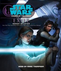 Legacy of the Force 4: Exile (2007, CD)