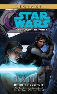 Legacy of the Force 4: Exile (2015, Legends-Cover)