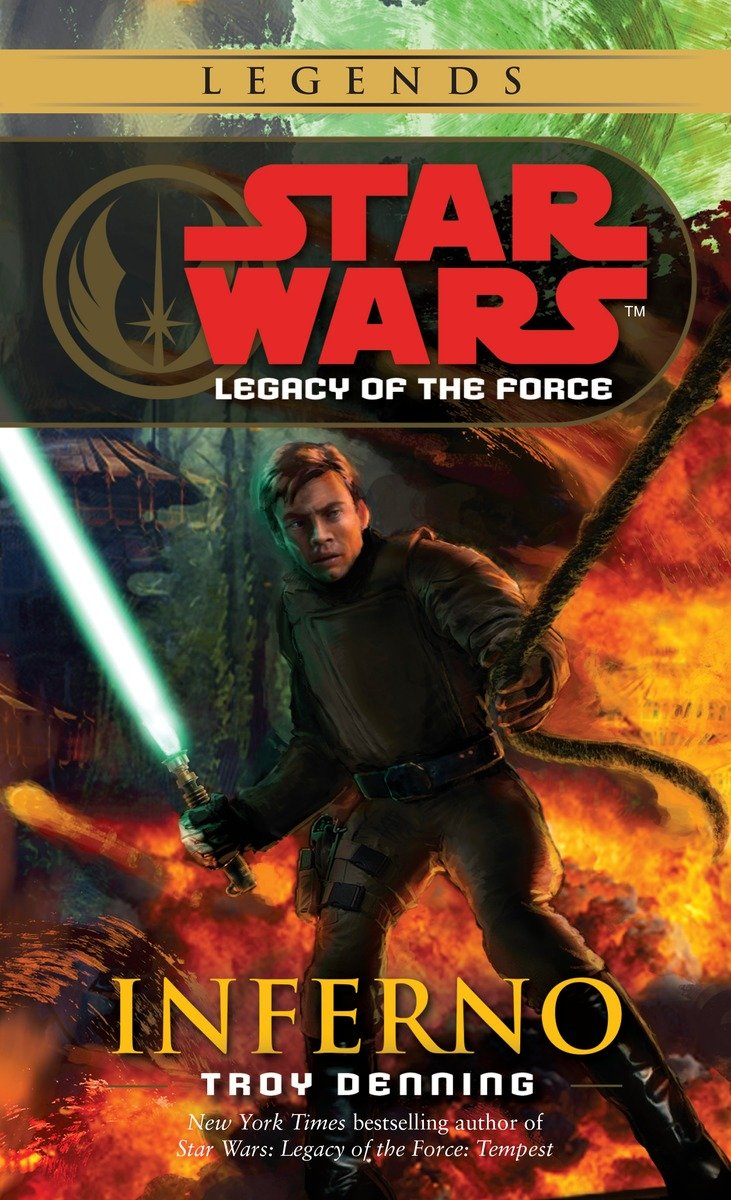 Legacy of the Force 6: Inferno (2016, Legends-Cover)