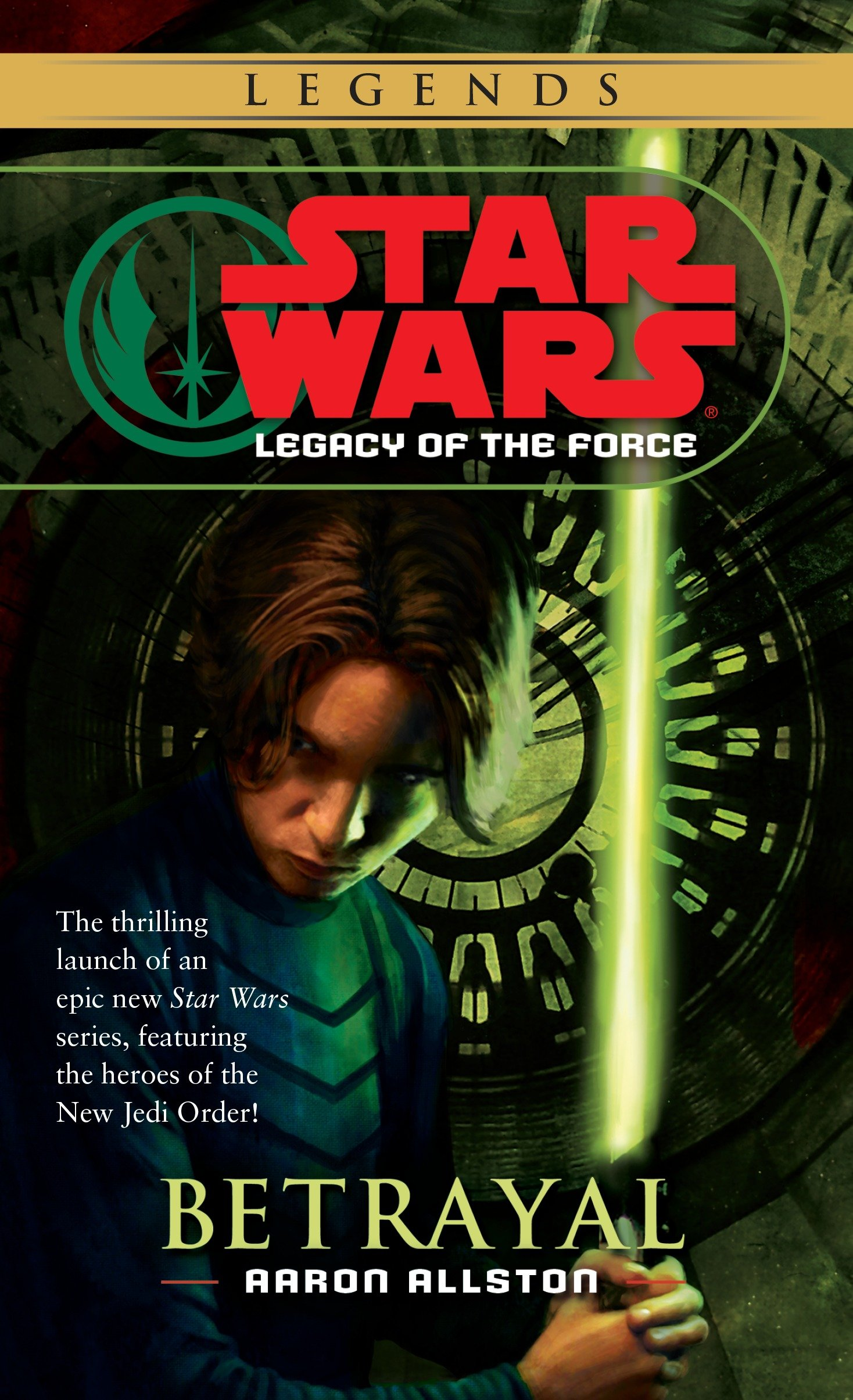 Legacy of the Force 1: Betrayal (2014, Legends-Cover)
