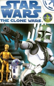 The Clone Wars: Activity Book to Color with Stickers (15.07.2008)