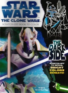 The Clone Wars: The Dark Side - Scratch-Off Book to Color (15.08.2008)