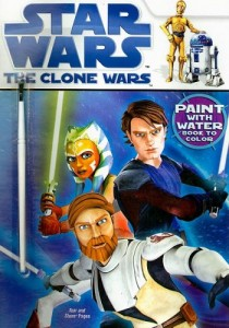 The Clone Wars: Paint with Water - Book to Color (01.08.2008)