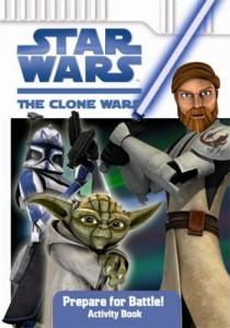 The Clone Wars: Prepare for Battle! (Activity Book) (07.08.2008)