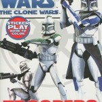 The Clone Wars: Troopers - Sticker Play Book to Color (01.08.2008)