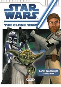 The Clone Wars: Auf in den Kampf! (Activity Book) (08.12.2008)