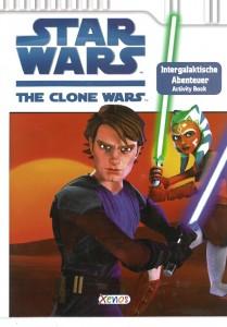 The Clone Wars: Intergalaktische Abenteuer (Activity Book) (08.12.2008)