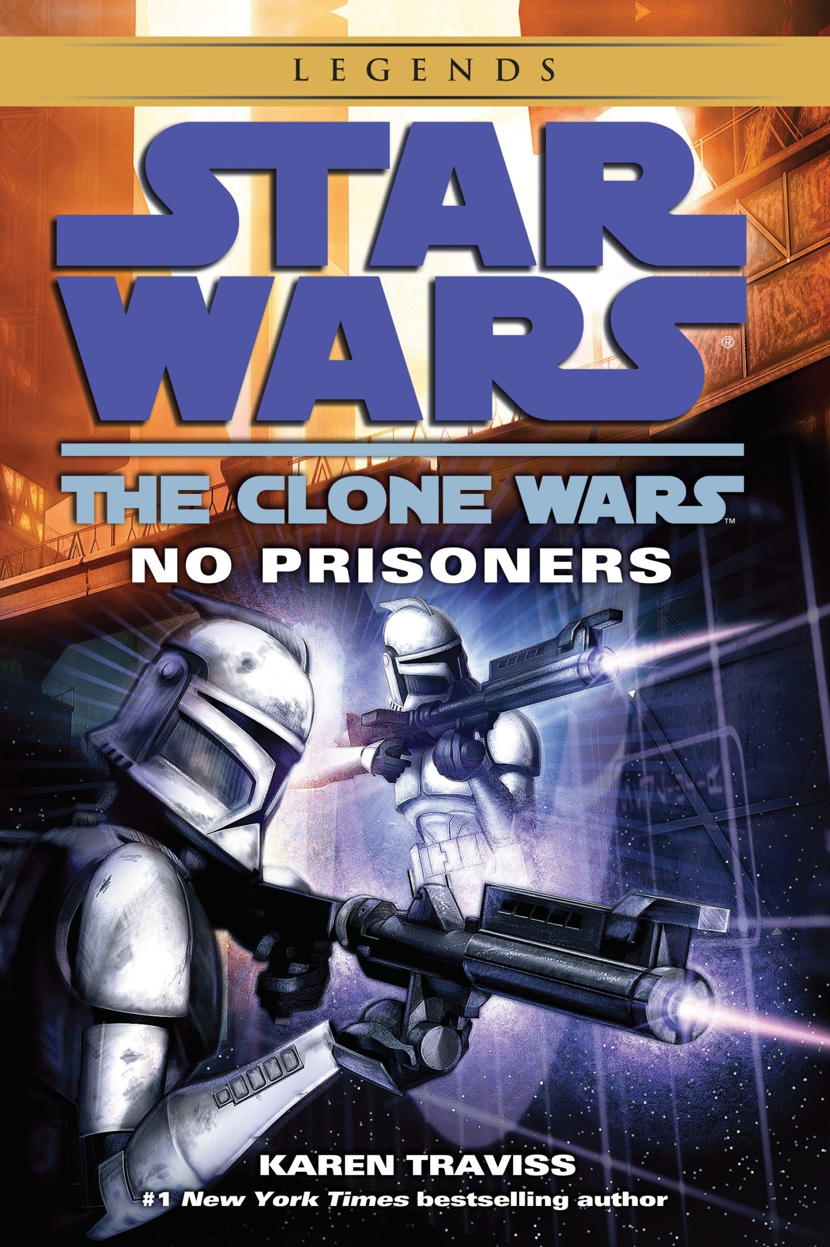 The Clone Wars: No Prisoners (2015, Legends-Cover)