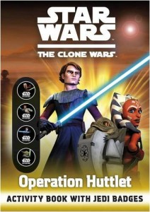 The Clone Wars: Operation Huttlet - Activity Book with Jedi Badges (02.07.2009)