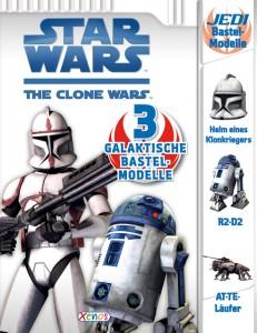 The Clone Wars: 3 Galaktische Bastel-Modelle (28.09.2009)