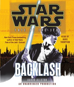 Fate of the Jedi 4: Backlash (2010, CD)