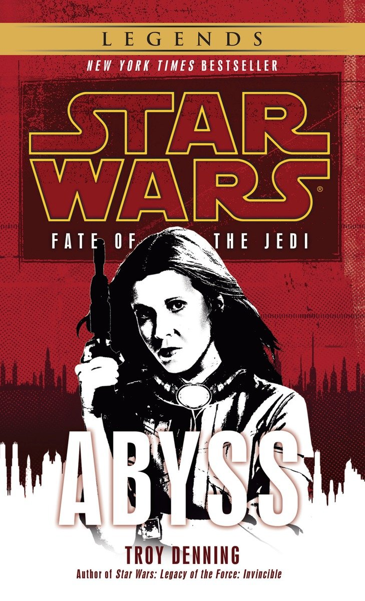 Fate of the Jedi 3: Abyss (2016, Legends-Cover)
