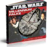 Millennium Falke: 3-D-Modell und Buch (31.07.2010)