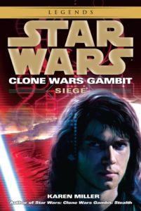 Clone Wars Gambit: Siege (2015, Legends-Cover)