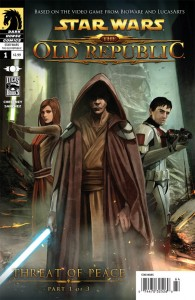 The Old Republic #1: Threat of Peace, Part 1 (Benjamin Carré Cover)