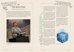 The Jedi Path: A Manual for Students of the Force (Buchseite)