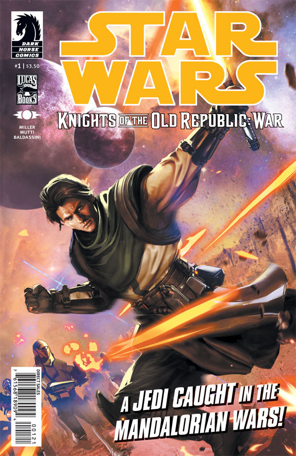 Knights of the Old Republic: War #1 (Dave Wilkins Variant Cover)