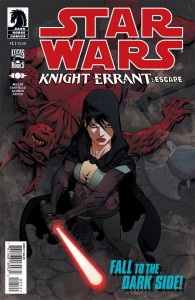 Knight Errant: Escape #1 (Mike Hawthorne Variant Cover)
