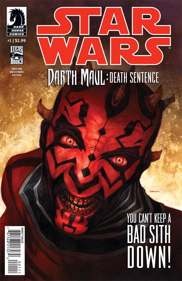 Darth Maul: Death Sentence #1 (25.07.2012)
