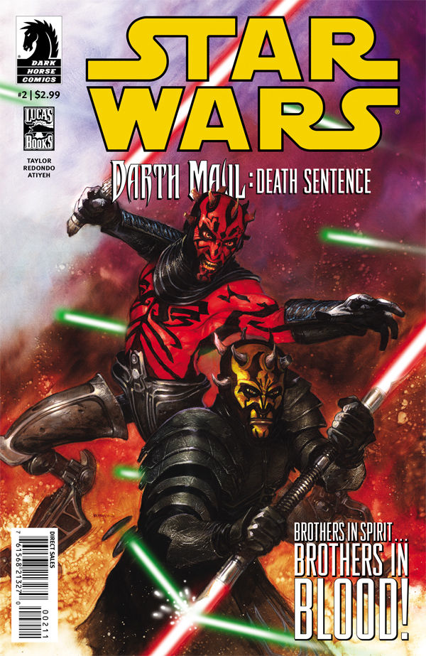 Darth Maul: Death Sentence #2 (29.08.2012)