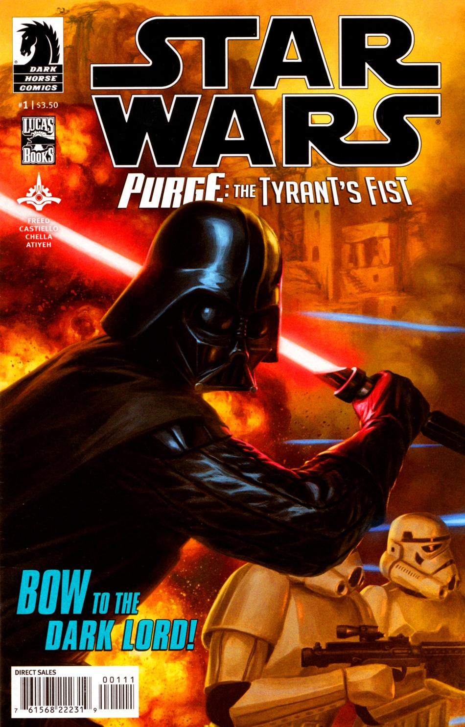 Purge: The Tyrant's Fist #1 (05.12.2012)