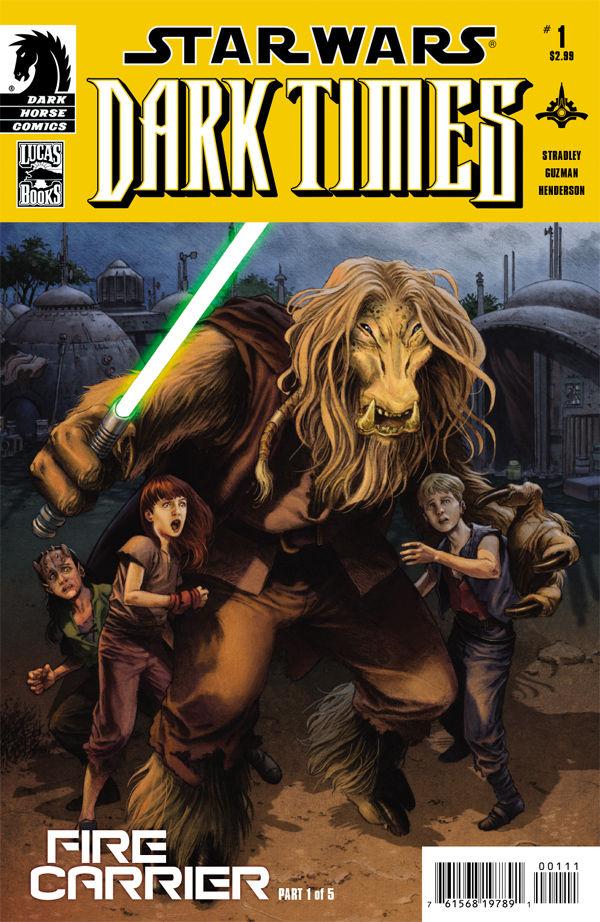 Dark Times: Fire Carrier #1