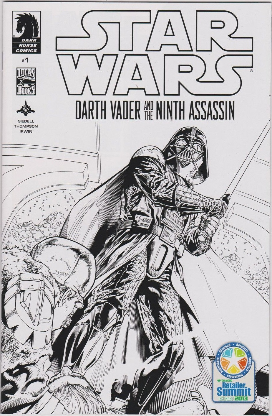 Darth Vader and the Ninth Assassin #1 (Diamond Retailer Summit Variant Cover) (24.04.2013)