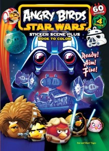 Angry Birds Star Wars: Ready! Aim! Fire! - Sticker Scene Plus Book to Color (01.02.2013)