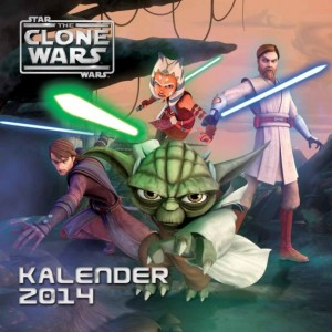 The Clone Wars Wandkalender 2014