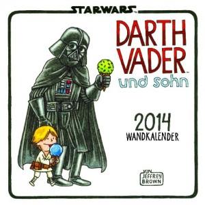 Darth Vader und Sohn Wandkalender 2014