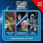 The Clone Wars - 3-CD Hörspielbox