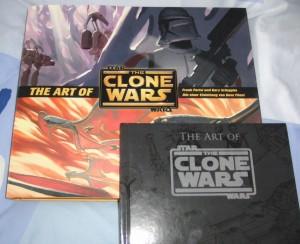 Zwei Bücher, ein Titel: The Art of Star Wars: The Clone Wars