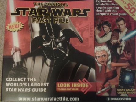 Ausgabe 1 der englischen Ausgabe des offiziellen Star Wars Fact Files