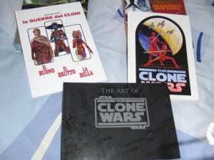 Die Produktionsbücher aus Staffel 1 und 2 mit dem Artbook