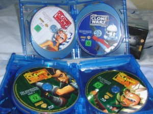 The Clone Wars Collector's Edition Discs