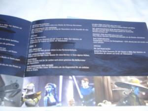 Eine Seite aus dem Episodenführer