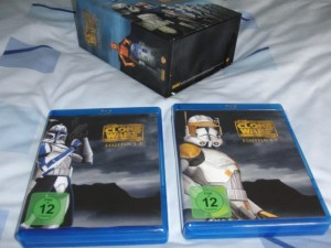 The Clone Wars Collector's Edition Discboxen