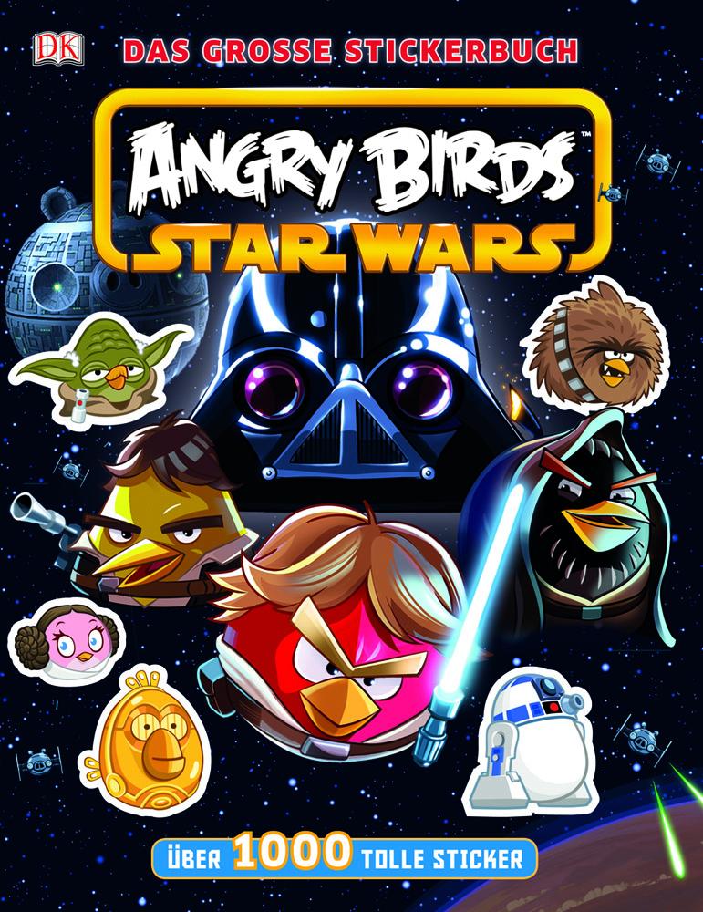 Angry Birds: Star Wars - Das große Stickerbuch