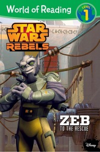 Star Wars Rebels: Zeb to the Rescue (World of Reading Level 1) (05.08.2014, Amazon.de)