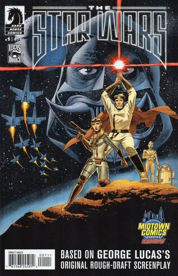 The Star Wars 1 (Midtown Comics VC)