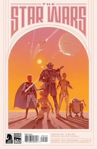 The Star Wars #2 (Ralph McQuarrie variant cover)