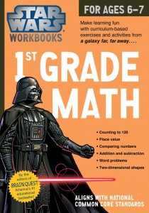 Star Wars Workbook: 1st Grade Math (17.06.2014, Amazon.de)