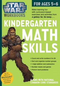 Star Wars Workbook: Kindergarten Math Skills (17.06.2014, Amazon.de)