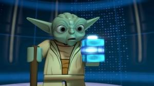 LEGO-Yoda in den Yoda-Chroniken.