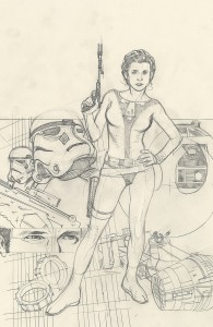 Rebel Heist #2 Adam Hughes Ultra Variant Sketch Cover (28.05.2014)