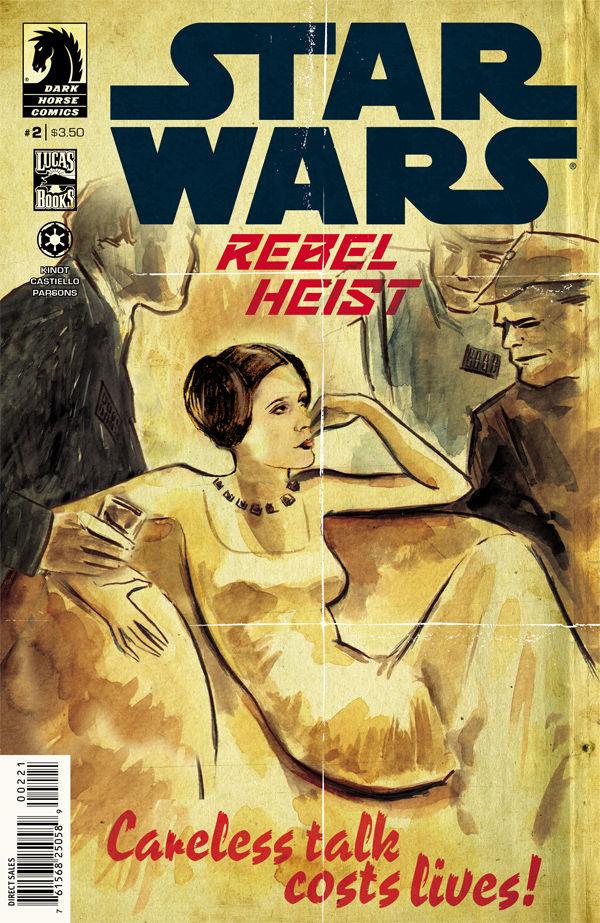 Rebel Heist #2 Matt Kindt Variant Cover (28.05.2014)