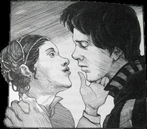 Das Thema Liebe kommt in The Empire Striketh Back nicht zu kurz.
