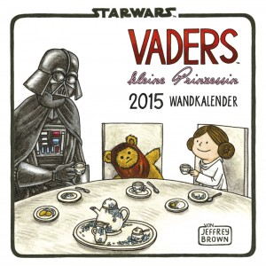 Star Wars: Vaders kleine Prinzessin Wandkalender 2015