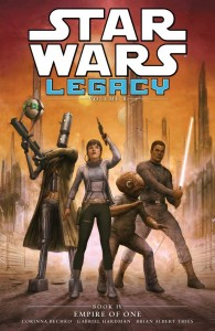 "<a href=""https://jedi-bibliothek.de/datenbank/literatur/empire-of-one-9781616555535/"">Legacy II Book 4: Empire of One</a> (28.10.2014, <a href=""http://www.amazon.de/exec/obidos/ASIN/161655553X/jedibiblio-21"" target=""_blank"">Amazon.de</a>)"