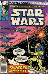 Star Wars #34: Thunder in the Stars!